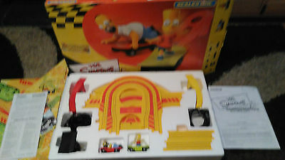 Scalextric Simpsons Skateboard Chase race set
