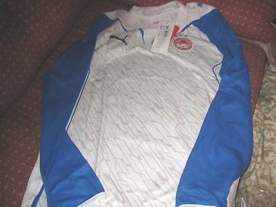 olympiakos Goalkeeper shirt brand new tags/packet shirt large