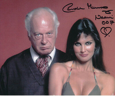 Caroline Munro SIGNED photo - J874 - James Bond