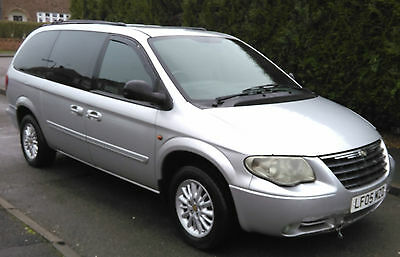 2005 Chrysler Grand Voyager Lx Auto Silver Stow And Go