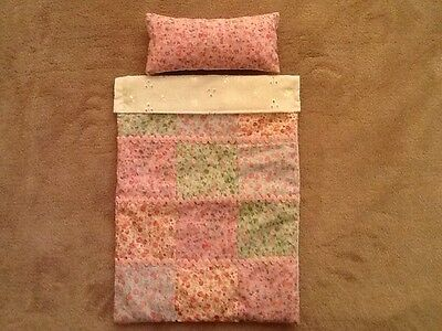 SMALL DOLLS QUILT SET 11 x 8 INCHES