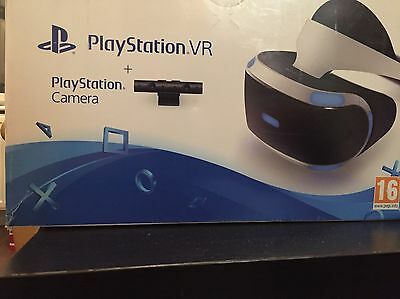 Sony PlayStation VR Headset Camera Bundle Brand New