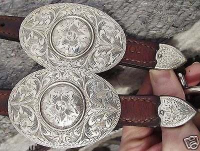 VOGT STERLING SILVER Show Halter-Fabulous World Classic-Gorgeous Buckles+Accents