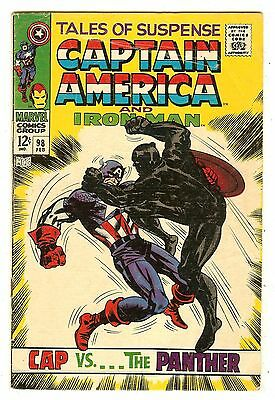 Tales Of Suspense 98   Black Panther cover & story