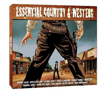 Various - Essential Country and Western CD (2) Notnow NEU