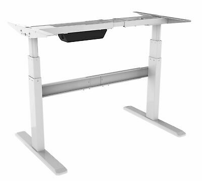HEIGHT ADJUSTABLE STANDING Desk (Frame Only) , Electric, White ...
