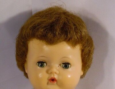 "Vintage Tiny Tears Doll 13"" - American Character"