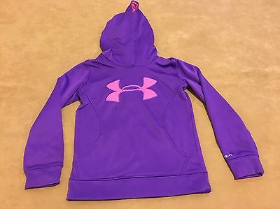 Under Armour Youth Girls Loose Fit Sweatshirt Hoodie Size X Small