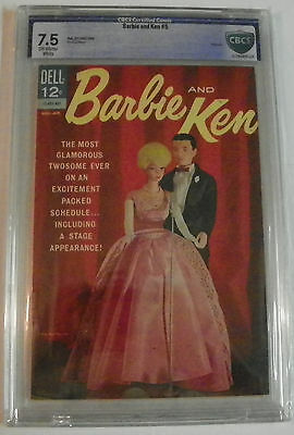 Barbie And Ken #5 (1963) CBCS 7.5 Dell Comics Silver Age Photo Cover OWW