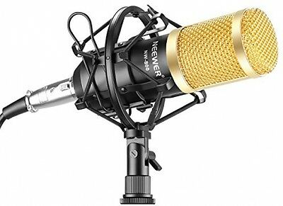 Neewer NW-800 Professional Studio Broadcasting and Recording Microphone Set + +