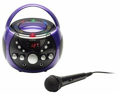Goodmans XB9CDG Karaoke Machine with LED Lights