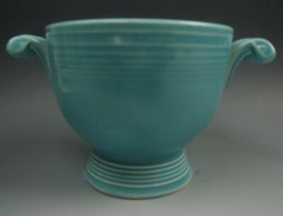 Homer Laughlin Pottery FIESTA TURQUOISE Open Sugar Bowl EXCELLENT
