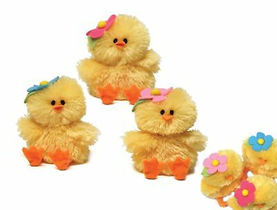 Plüsch Küken mit Sound - Chicks with sound - Ostern Plüschfigur Stofftier