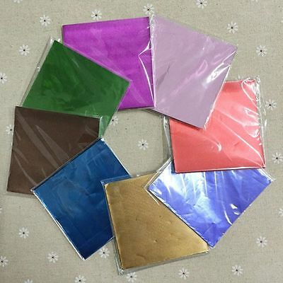 Lolly Sweets For Package Chocolate Square Wrappers Candy Paper Aluminum Foil