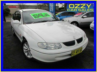 1999 Holden Commodore VT Acclaim White Automatic 4sp A Sedan