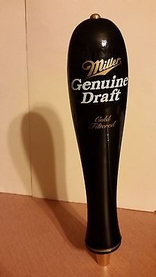 Miller Genuine Draft Cold Filtered Beer Bar Tap Handle 11 Inches