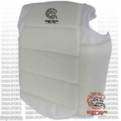 WKF Style Chest Protector Chest Guard Body Protector for Karate Sparring