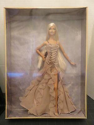 Mattel VERSACE Barbie Gold Label Collectible Couture Doll 2004 NIB