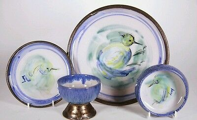 Robert and Lucy (Boyd) Beck complete 24 piece dinner service