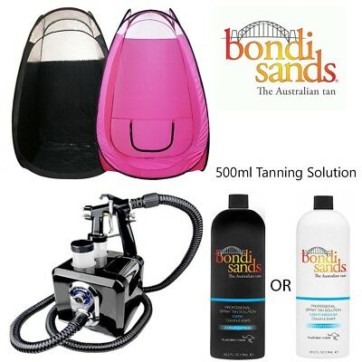 Bondi Sands Complete Professional Spray Tanning Kit 500ML Dark Light Solution