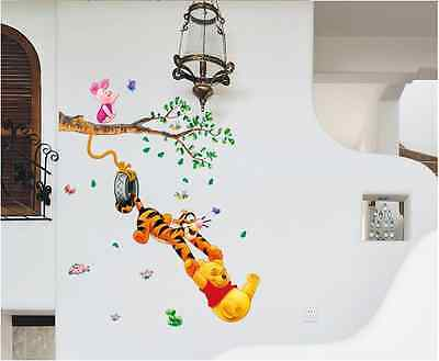 Winnie The Pooh Wall Stickers Nursery kids baby Room Vinyl Art Decal Decor 8