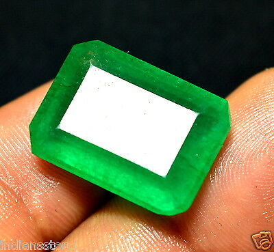 16.05 Ct.Beautiful Colombian Green Emerald Cut Best Quality Natural Gemstone
