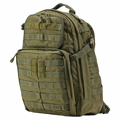 5.11 Tactical Rush 24 backpack MOLLE pack bag - Tac Od - New with tags