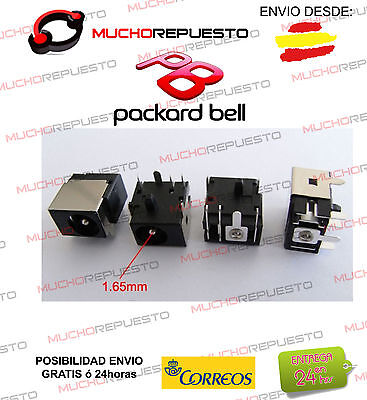 CONECTOR ALIMENTACION POWER JACK Packard Bell MS2273 MS2274 MS2285 ETNA GL GM