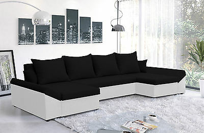 Corner Sofa Bed Oscar - with storage - Brand New - Washable Farbic - Delivery