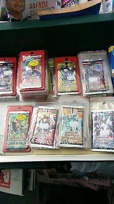 """""""LOTTO 42 BUSTINE carte YU GI OH + 2 deck in regalo"""""""