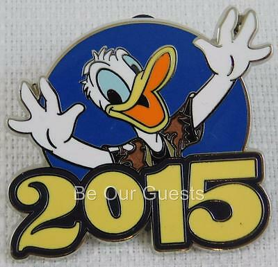 Disney Parks 2015 Donald Duck Pin Character Mystery Collection New B