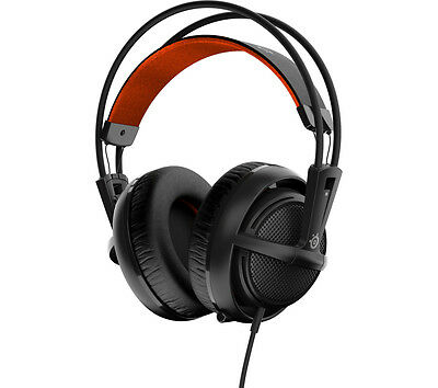 STEELSERIES Siberia 200 Gaming Headset Noise-cancelling microphone Black