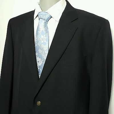 Classic Joseph and Feiss mens Sport Coat Navy 52R US Polyester and Wool Blazer