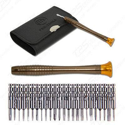25 in 1 Precision Screwdriver Wallet Set Repair Tools for Electronics PC Laptop