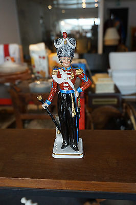 Figurine Sitzendorf - Royal Irish Fusiliers - Drum Major 1828