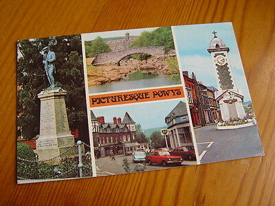 TOP5228 - Multi-View Postcard - Picturesque Powys