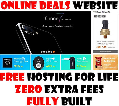 Website - eCommerce - Fully Built - Home Online Money Based Business - For Sale