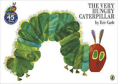 The Very Hungry Caterpillar by Eric Carle (Paperback, 2002)-9780140569322-F005