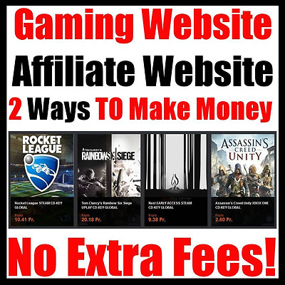 Game Website -  No Extra Fees - Home Online Adult Internet Business - For Sale