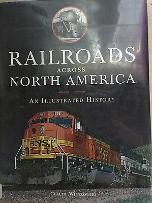 Railroads Across North America Hardcover
