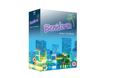 Benidorm Series 1-3 and Summer Special DVD Boxset New Sealed Free UK Delivery