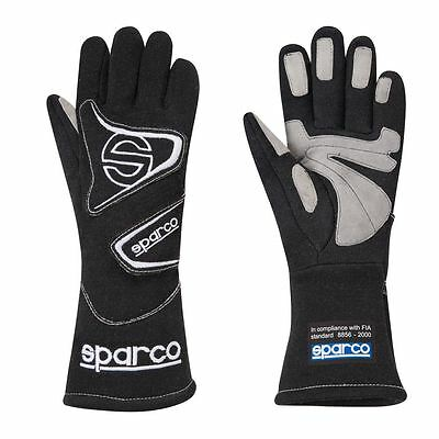 Sparco Flash L3 FIA Approved Race, Rally Gloves Size 09 (S) Black