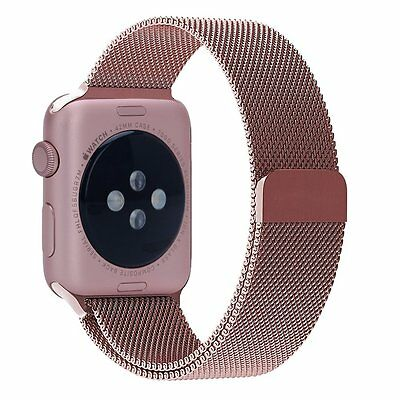 Orobay Apple Watch Band Milanese Stainless Steel (38mm Rose Gold)