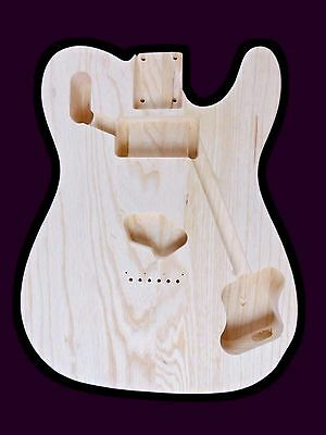 Telecaster Guitar Custom 72 Body / Swamp ash / 2 piece /1.55kg / 003306