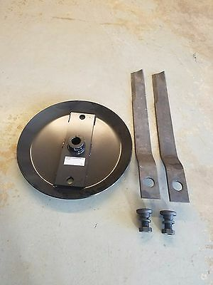 Stump Jumper Blade Pan With 6 Ft. Rotary Cutter Blades And Bb55 Blade Bolts