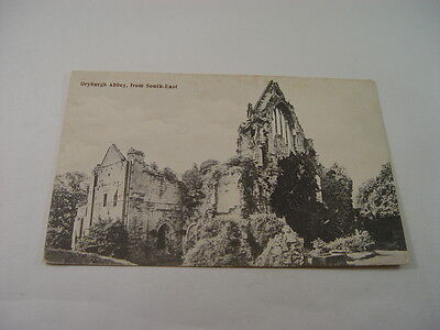 TOP11396 - Postcard - Dryburgh Abbey from South-East