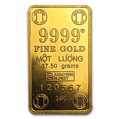 37.5 gram Gold Bar - Secondary Market - SKU #14528