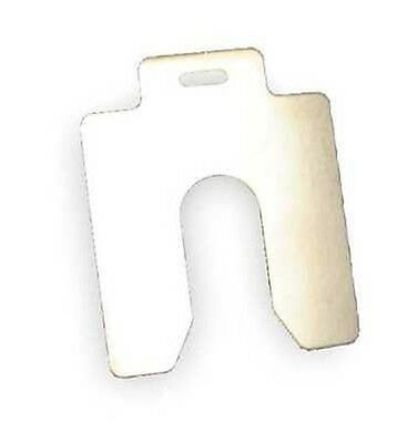 MAUDLIN PRODUCTS MSA002-20 Slotted Shim, A-2x2 Inx0.002In, Pk20