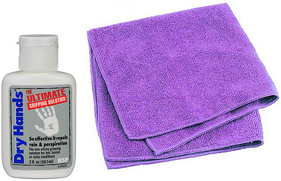 Dry Hands 2oz + X-Pole Cleaning Cloth