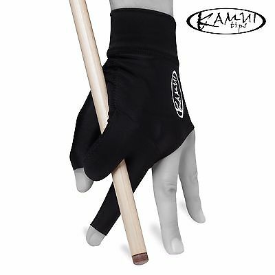 New KAMUI Billiard Pool GLOVE - Small - For Left Hand - Black + FREE shipping!